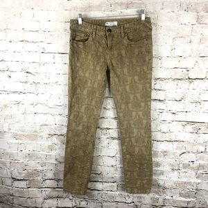 Women's Free People Skinny Ankle Pants 28 Taupe